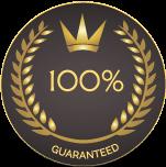 zeroaqua moneyback guarantee badge